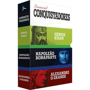 Box 3 Livros - O Essencial Conquistadores (3 Volumes) Exclusivo | R$19