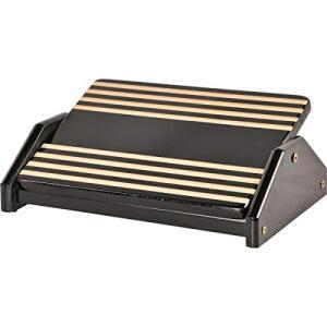 [Prime] Apoio ergonômico para os pés, Souza & Cia, BLACK PIANO | R$35