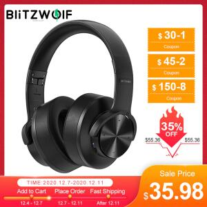 Fone de Ouvido Over Ear BlitzWolf® BW-HP2 Noise Canceling | R$207