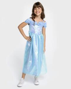Vestido Cinderela Disney - Azul Claro | R$ 60
