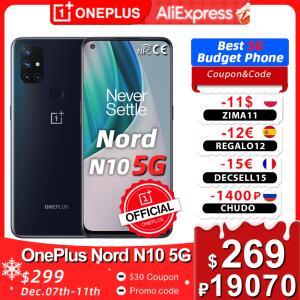 Smartphone Oneplus Nord N10 6GB 128GB - Versão Global | R$1.529