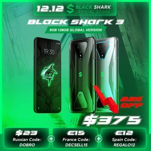 Xiaomi Black Shark 3 5G 8GB 128GB | R$2.269