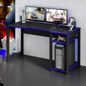 Mesa Para Computador Gamer Tecno Mobili ME4152 2 Prateleiras | R$194