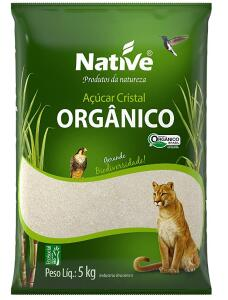 [PRIME] Açúcar Cristal Orgânico Native 5kg
