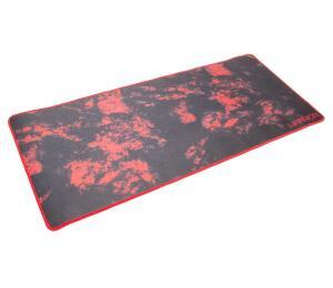 Mouse Pad Gamer Para Teclado E Mouse Vermelho Warrior - R$68