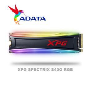 Adata xpg spectrix s40g rgb pcie gen3x4 m.2 2280 512gb | R$ 439