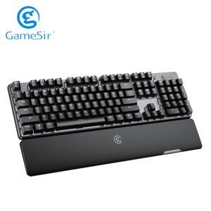 Gamesir gk300 2.4ghz teclado mecânico sem fio | R$361