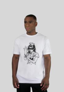 Camiseta 182life Enema Girl Branca | R$36