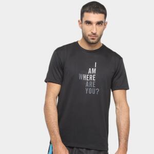 Camiseta Gonew I'm Here Masculina - Preto R$16