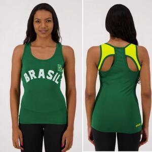 Regata Brasil Una Feminina Verde R$9