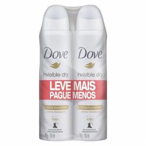 Desodorante Dove Aerosol Invisible Dry Com 2 Unidades De 89g Cada | R$20