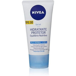 Hidratante Protetor Nivea Equilíbrio Nutritivo FPS30 50ml | R$23
