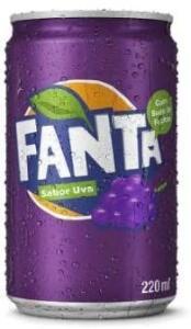 Refrigerante Fanta Uva Mini 220Ml R$1,33