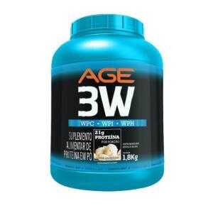Whey Protein 3W 1.8 kg AGE Nutrilatina | R$108