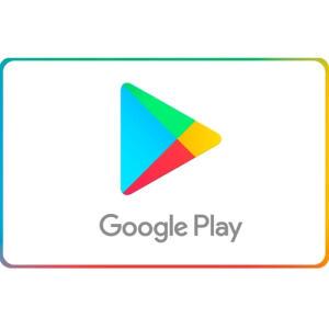10% OFF em Gift Card Google Play