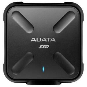 SSD Externo Adata SD700 256GB USB 3.2 Preto - ASD700-256GU31-CBK | R$370