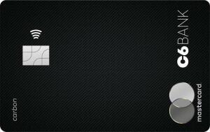 [Selecionados] Cartão Black C6 Carbon Anuidade gratis 1 ano + 10.000 pts Átomos