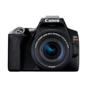 Câmera Canon Eos Rebel Sl3 Dslr Kit Com Lente 18-55mm F4-5.6 Is Stm   R$2700