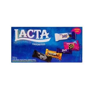 (AME 50%) Caixa de Bombom Lacta Brand Mix Sucessos 250,5g