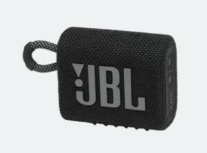 Caixa de som portátil à prova d'água JBL GO 3 | R$242