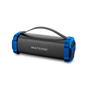 [AME R$121] Caixa de Som Portátil Multilaser Bazooka Bluetooth 50W - SP350 R$152