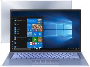"Notebook Asus ZenBook Intel Core i7 8GB 256GB SSD 14"" Full HD Windows 10 - R$4274"