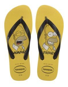 [PRIME] Chinelo Simpsons, Havaianas, Adulto Unissex - R$28