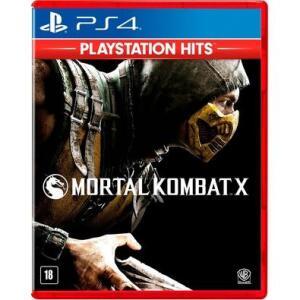 Mortal Kombat X - Ps Hits | R$ 30