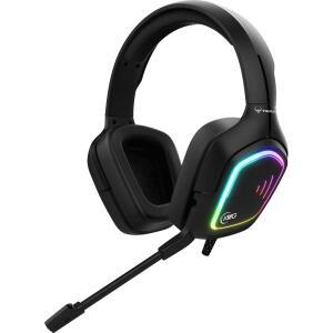 Headset Gamer KWG, TAURUS M2, RGB, BLACK | R$179