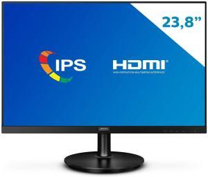 "[PRIME] Monitor Philips 23.8"" FHD IPS 75Hz DisplayPort | R$700"