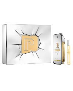 Kit Perfume 1 Million Lucky Paco Rabanne Masculino 100ml + Miniatura | R$270