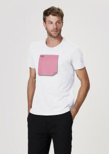 Camiseta Unissex Com Canetinha Lavável Post-It - Branco | R$ 20