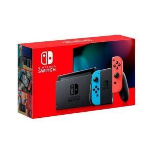 Console Nintendo Switch Neon Bateria Estendida Azul,Vermelho Bivolt | R$ 2060