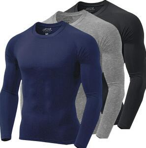 Kit 3 Camisas Térmicas com Proteção UV FPU 50 Semi Impermeável | R$110