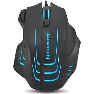 Mouse Gamer PC RGB Adamantiun Dagon ADX-300   R$99