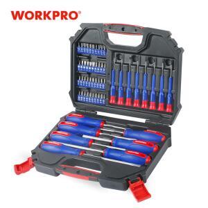 Workpro 55pc chave de fenda conjunto chave de fenda de precisão | R$193