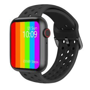 Smartwatch IWO W26 + 1 Pulseira De Brinde (Preto/Preto) | R$195