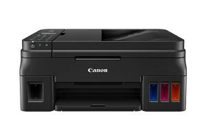 Impressora Multifuncional Canon MEGA TANK G4110 (GRÁTIS PAPEL CHAMEX A4 SULFITE) | R$969