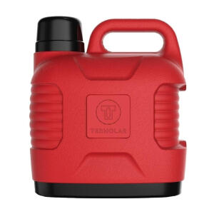 Garrafão Térmico Supertermo 5 Litros Vermelho - Termolar | R$ 25