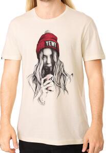 Camiseta Rusty Mantra Off-white - Tam. P | R$40