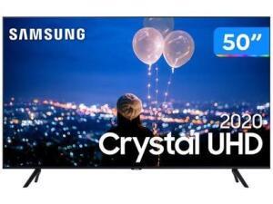 "[App] Smart TV Crystal UHD 4K LED 50"" Samsung - R$2232"