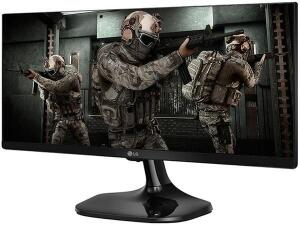 "Monitor Gamer LG 25UM58G 25"" LED IPS - Full HD HDMI 75Hz 1ms ultrawide   R$ 989"