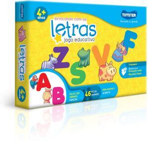 [Prime] Jogo de Encaixar Brincando com as Letras Toyster Brinquedos | R$ 40