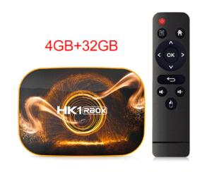 Caixa de tv inteligente android 10.0 HK1 RBOX R1 max 4gb ram 32gb | R$164