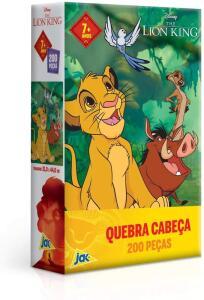 [PRIME] O Rei Leão Quebra-cabeça 200 Peças Toyster Brinquedos | R$25