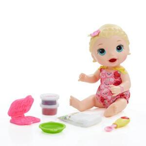 Boneca Baby Alive Lanchinho Loira | R$ 110