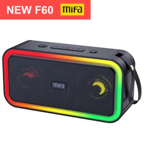 Mifa f60 40w potência de saída alto-falante bluetooth