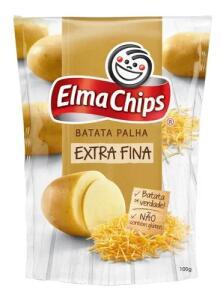 Batata Palha Extrafina Elma Chips Pacote 100g - R$2,29