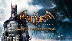 Batman: Arkham Asylum Game of the Year Edition R$9