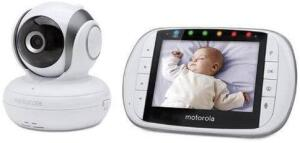 Babá Eletrônica Motorola Mbp36s Branco   R$1.100
